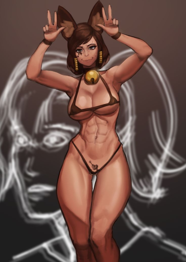 Sweaty pharah after a hard workout gets fucked in her pussy 8