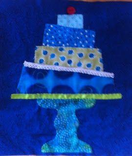 Fabricwonderland: Partijtje met taart
