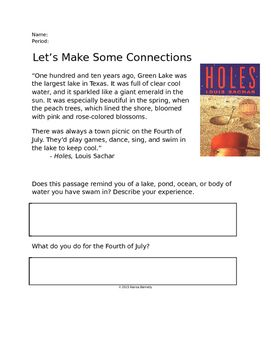 best louis sachar images louis sachar novels this is a very simple and fun activity to help students make text to middle schoolerslouis sacharreading