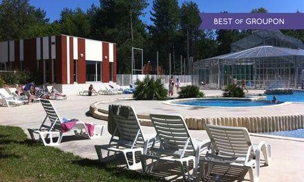 Loire-Atlantique : 7 nuits en emplacement au camping Le Parc du Guibel avec accès au parc aquatique pour 2 à 4 personnes