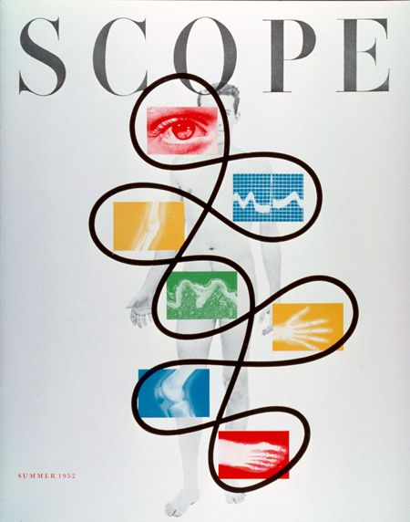 cMag243 - Scope Magazine cover by Will Burtin / Summer 1952