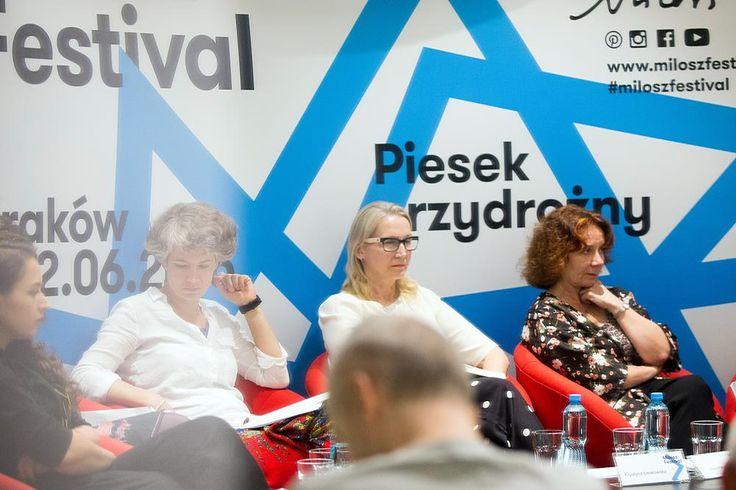 """Miłosz Festival 2016, Spotkanie """"Antologia polskich poetek"""" Fot. Tomasz Wiech"""