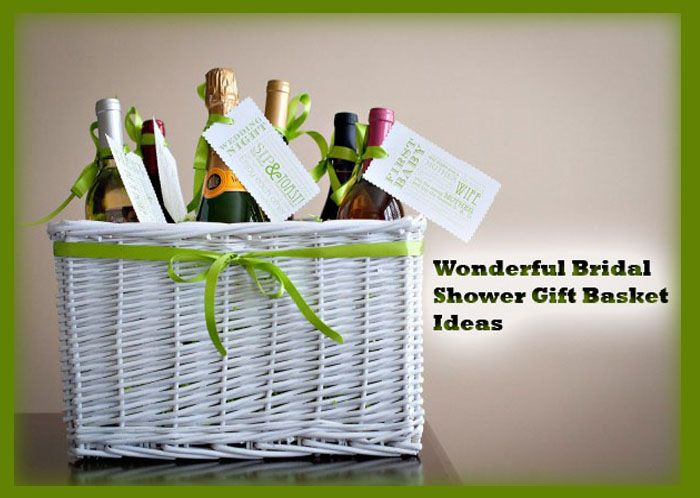 A bridal shower gift basket will be a gift that stands out among the myriad of gifts at the shower.Bridal showers offer a lot of fun ideas and activities, from games to crafty centerpieces, to themed bridal shower gift baskets that different guests could make up and bring with them for that bride.