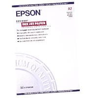 Epson A2 Photo Quality Inkjet Paper - (30 Sheets)    This crisp white matte Epson A2 Photo Quality Inkjet Paper with a weight of 105g/m2 optimises the resolution output for Photo-Real quality colour printing, up to 1440dpi. Superb for high quality colour business graphics, flyers and posters. £33.69