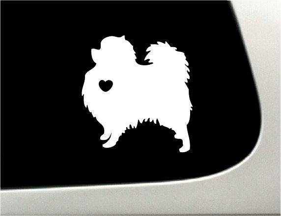 I love my Pomeranian Car Decal (http://thedecalguru.com/car-decals/pomeranian-car-decal/)