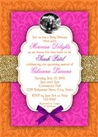 Bollywood Baby Shower Invitations