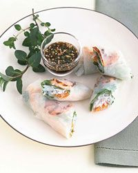 Grilled Shrimp Summer Rolls | Grilling is a fat-free way to cook omega ...