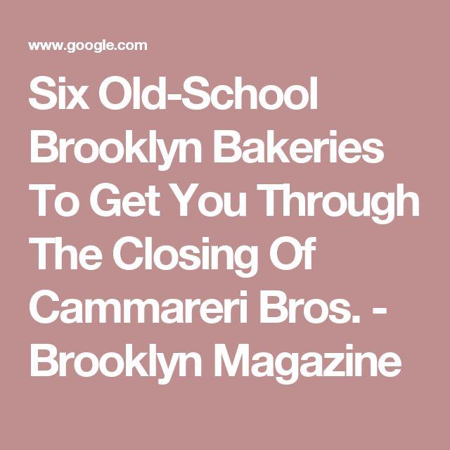 Six Old-School Brooklyn Bakeries To Get You Through The Closing Of Cammareri Bros. - Brooklyn Magazine