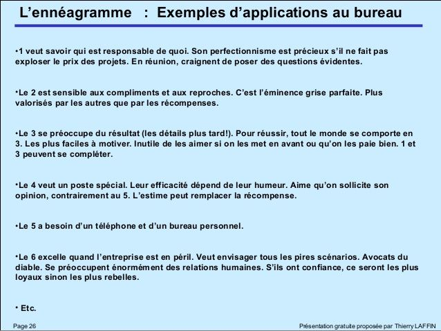 Enneagrammethierrylaffin 12614348067112 Phpapp02 Enneagramme Analyse Transactionnelle Comportement Humain