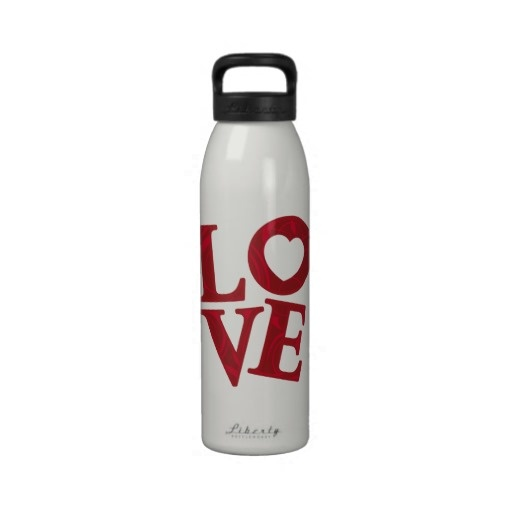 Love Letters liberty bottle Drinking Bottles