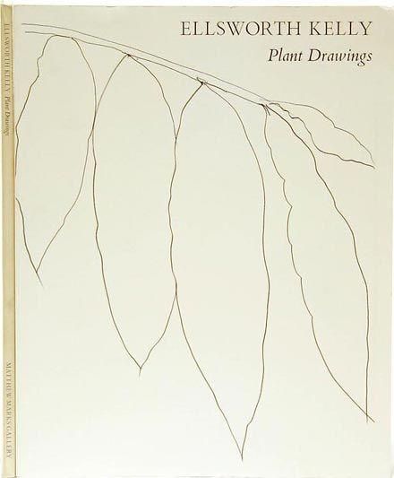 john ashbery - ellsworth kelly:  plant drawings