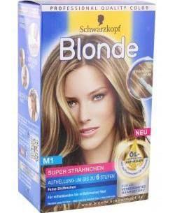 schwarzkopf blond m1 - Google-Suche