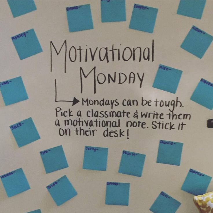 """Motivational Monday"" 