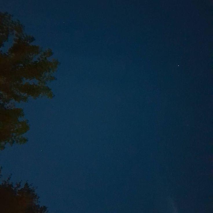 Un #cielo con poche #stelle #picoftheday #ferragosto #2k17
