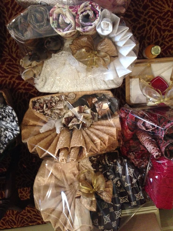 """Ots called """"seserahan"""" The family of the groom bringing all gifts for the bride."""