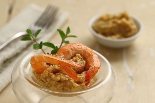 #Cocktail di #ceci e #gamberi || #Cirio, gusta la nostra #ricetta. #shrimph #chickpeas #recipe #appetizer