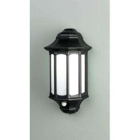 Elstead Lighting Azure Low Energy Black Or White Outdoor Light With Pir