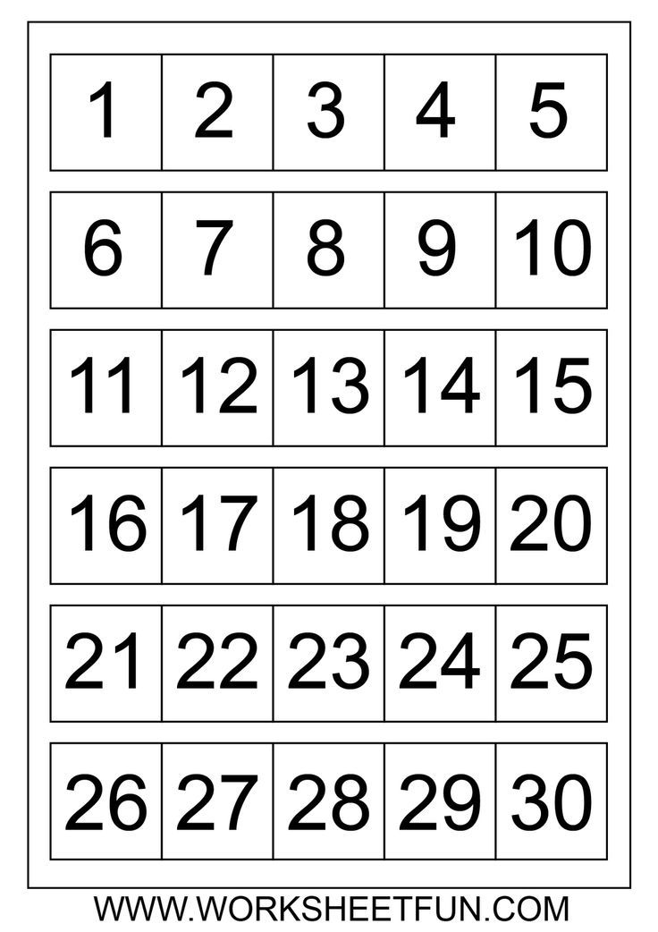 It is an image of Intrepid Free Printable Number Chart