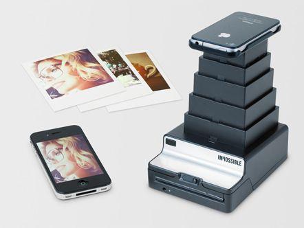 »Impossible Instant Lab« – druckt Polaroids aus iPhone-Fotos