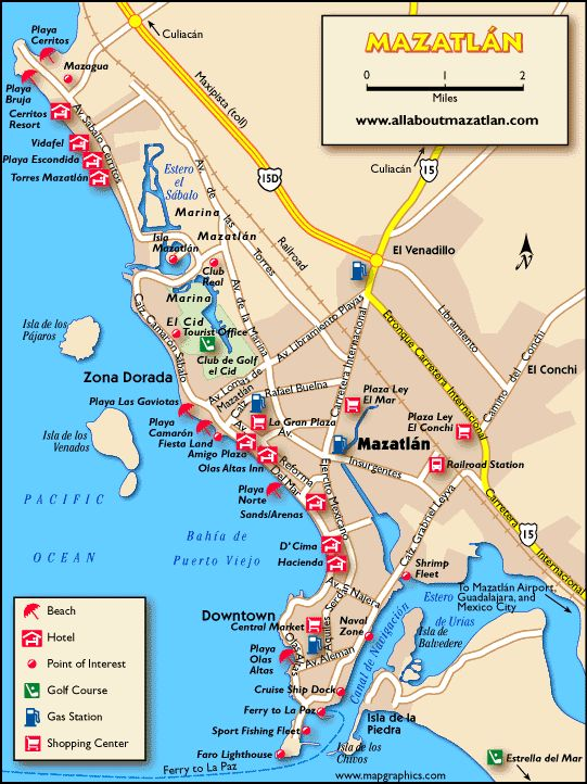 mazatlan mexico | Map Mazatlan, Sinaloa, Mexico