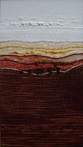 Landscape_Weavings - muy lindos tapices con paisajes