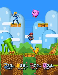 Best Super Smash Bros Images On Pinterest Video Games - Artist gives classic nes game screenshots a modern makeover and its amazing
