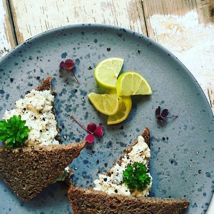 Vidunderlig vegansk tunsalat.