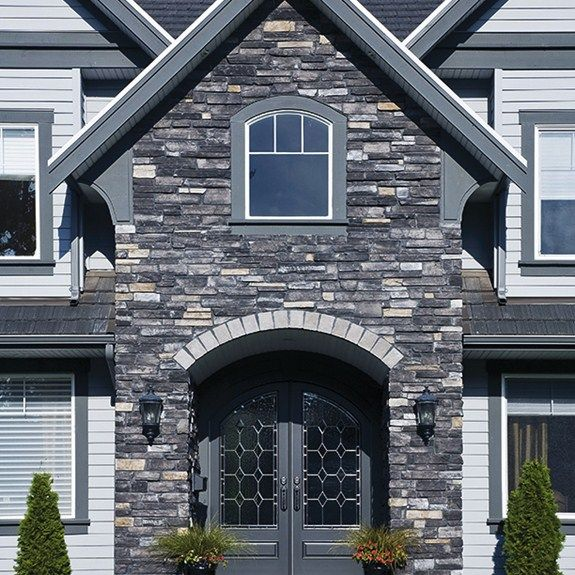 122 best images about country ledgestone cultured stone for Exterior ledgestone