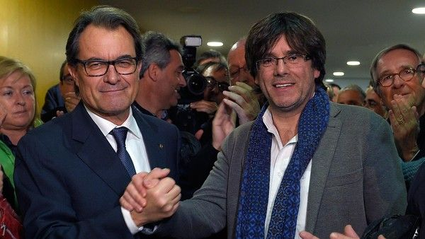 The Catalan parliament voted in a new regional president on Sunday, as part of a last-minute deal that is expected to accelerate the region's push for independence and raise the pressure on leaders in Madrid to end Spain's post-election political