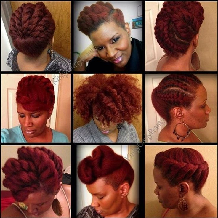 Super 1000 Images About Natural Hair Protective Styling On Pinterest Hairstyles For Men Maxibearus