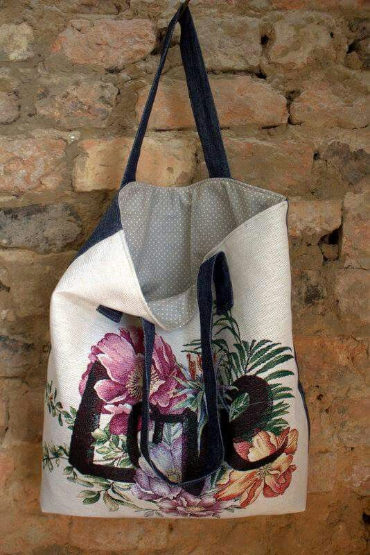 Torba LOVE Second Life Upcycling Bags