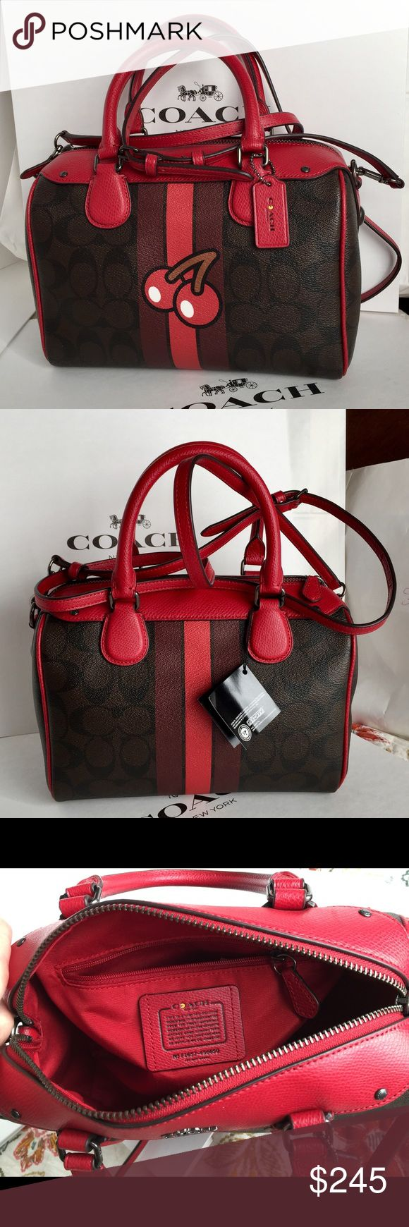 🍀Coach Purse🍀 100% Authentic Limited Edition Coach Purse, brand new!😍😍😍 Coach Bags Crossbody Bags