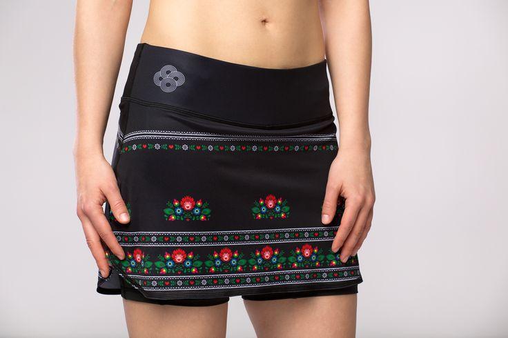 Running skirt Polka Sport - the best high quality sport skirt produced in Poland, unigue design, comfortable functional pockets. Spódniczka biegowa; spódniczka do biegania; spódniczki biegowe; spódniczki do biegania; spódniczka sportowa; spódniczki sportowe