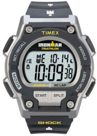 00ce0a9a5dde Timex Men s T5K195 Ironman 30-Lap Shock Resistant Watch - Black Yellow
