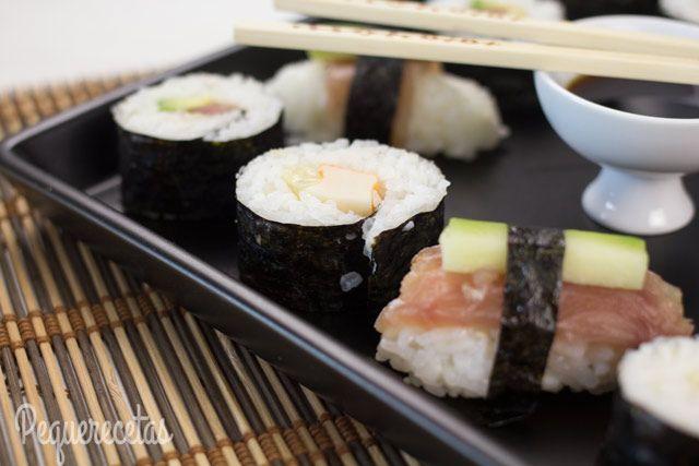 Sushi Fácil En 5 Pasos Cómo Hacer Sushi Casero Recetas