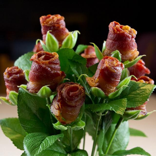 From my Fancy boards - Bacon bouquet / :))