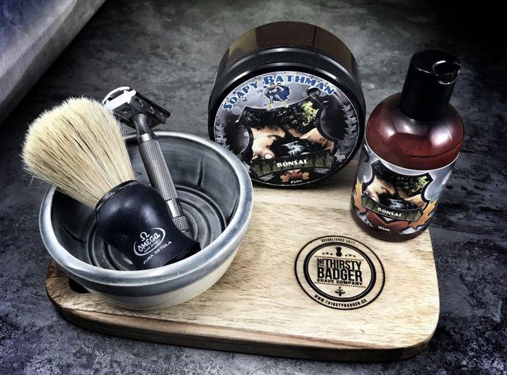 #SOTD #wetshaving #shavelikegrandpa Razor: Rockwell 6c on 5 Blade: Rapira Platinum Brush: Omega Boar Soap: Soapy Bathman Bonsai Aftershave: Soapy Bathman Bonsai Balm Other: Thirsty Badger lather bowl