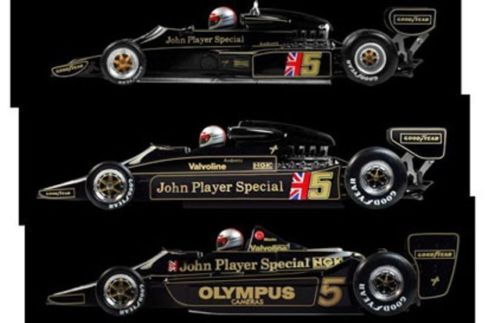 TRUE-SCALE-MINIATURES-11SS3-LOTUS-JPS-F1-SET-ANDRETTI-Type-77-78-79-1-43rd-scale