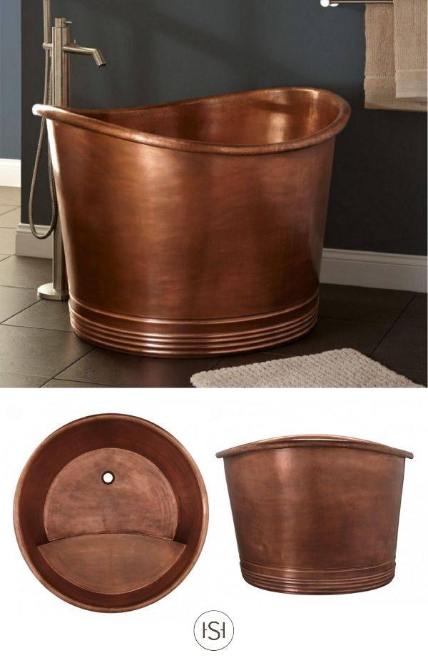 Outstanding Japanese Copper Soaking Tub Images - Exterior ideas 3D ...