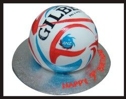ANZ Championship cake. Loving these Netball cakes. Wish I'd been more inspired when M was having birthday parties.