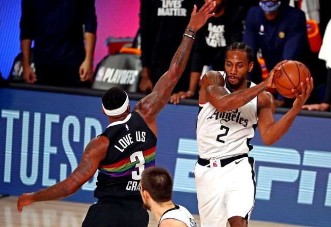 Denver Nuggets At Los Angeles Clippers 9 15 20 Nba Picks And Prediction In 2020 Los Angeles Clippers Denver Nuggets Usa Today Sports