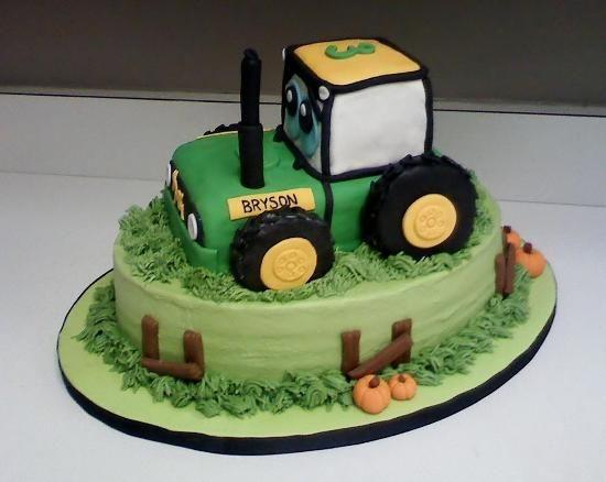 Tractor Cake Ideas