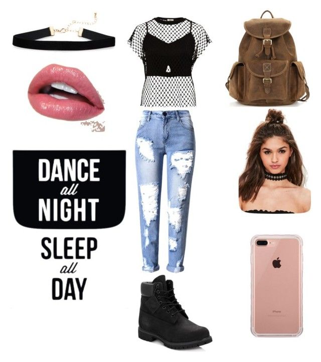 """Dance's style"" by grace-karali on Polyvore featuring mode, Timberland, River Island, Belkin, Missguided et Native State"