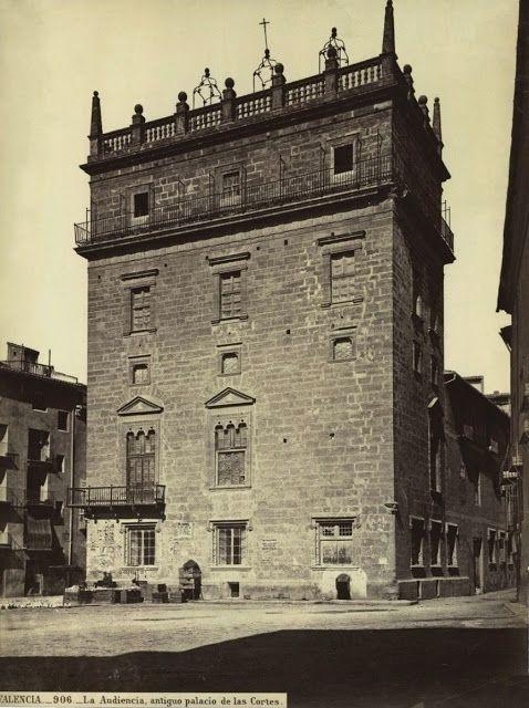 La Valencia desaparecida: 1870