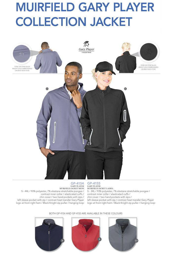 New Gary Player Collection Muirfield Sports Jacket