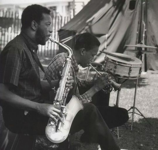 Ornette Coleman and Don Cherry