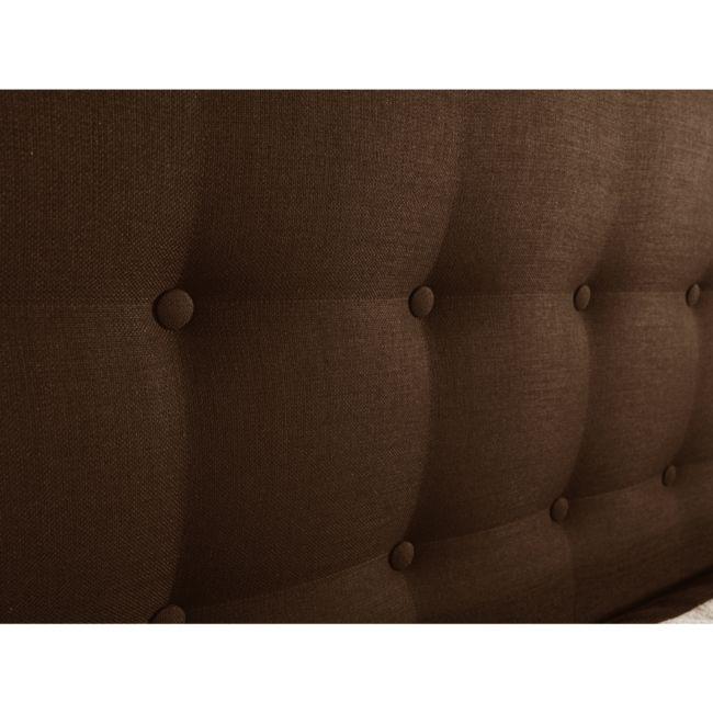 Morpheus Kontinentalsäng med Gavel 90 cm - Mörkbrun #sänggavel #headboard