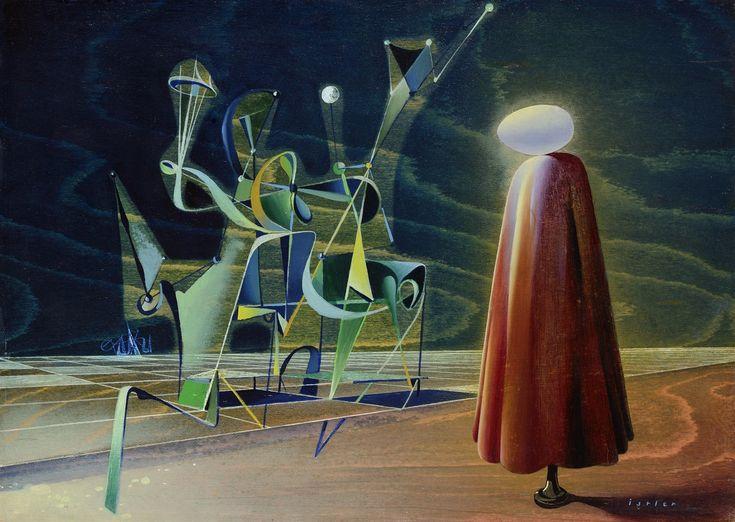 Josef Istler: Obraz, 1947, olej, překližka, 33 x 46 cm, | na serveru Lidovky.cz | aktuální zprávy