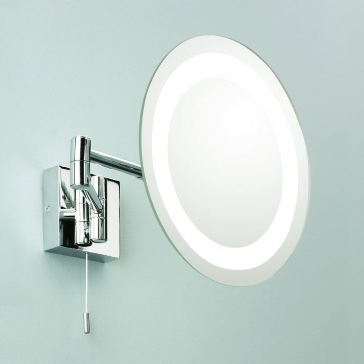 Magnifying Mirror Wall Mounted With Light & Switch