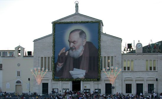 San Giovanni Rotondo - Come see the incorruptible body of St. Padre Pio.